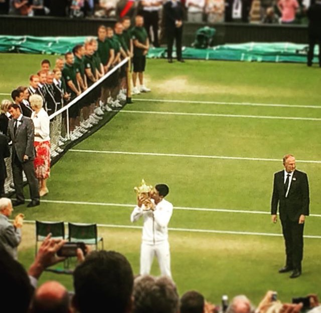 Wimbledon, The Championship – Men's Singles Final 2015