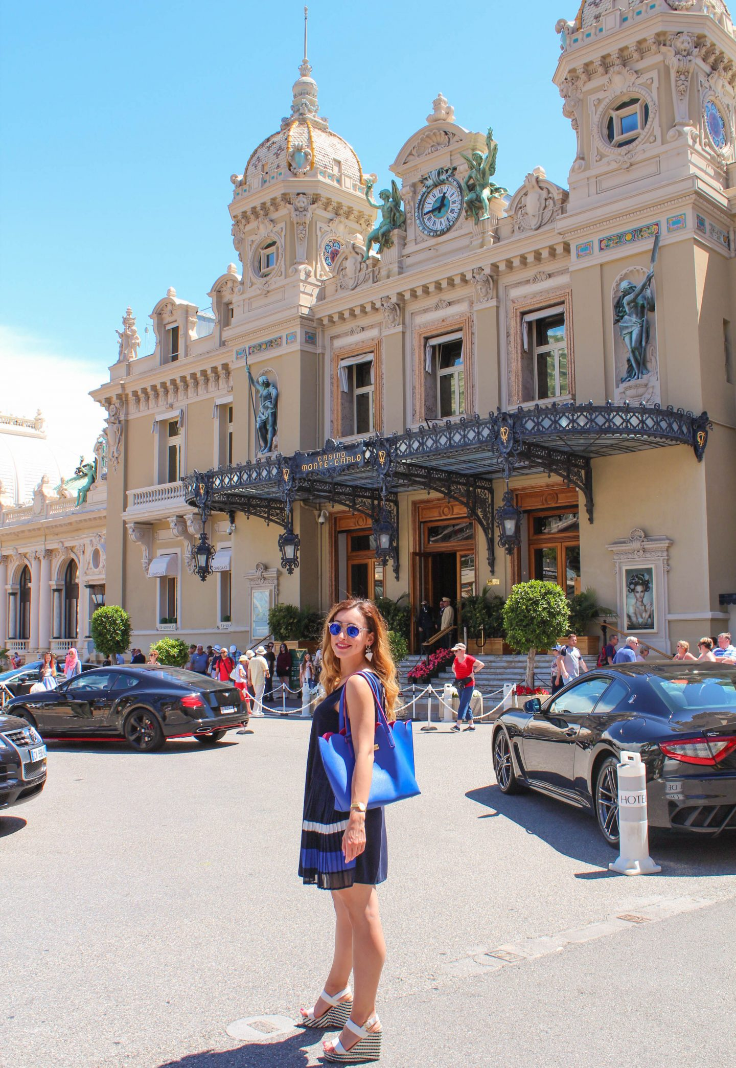 Cafe De Paris and Casino de Monte Carlo