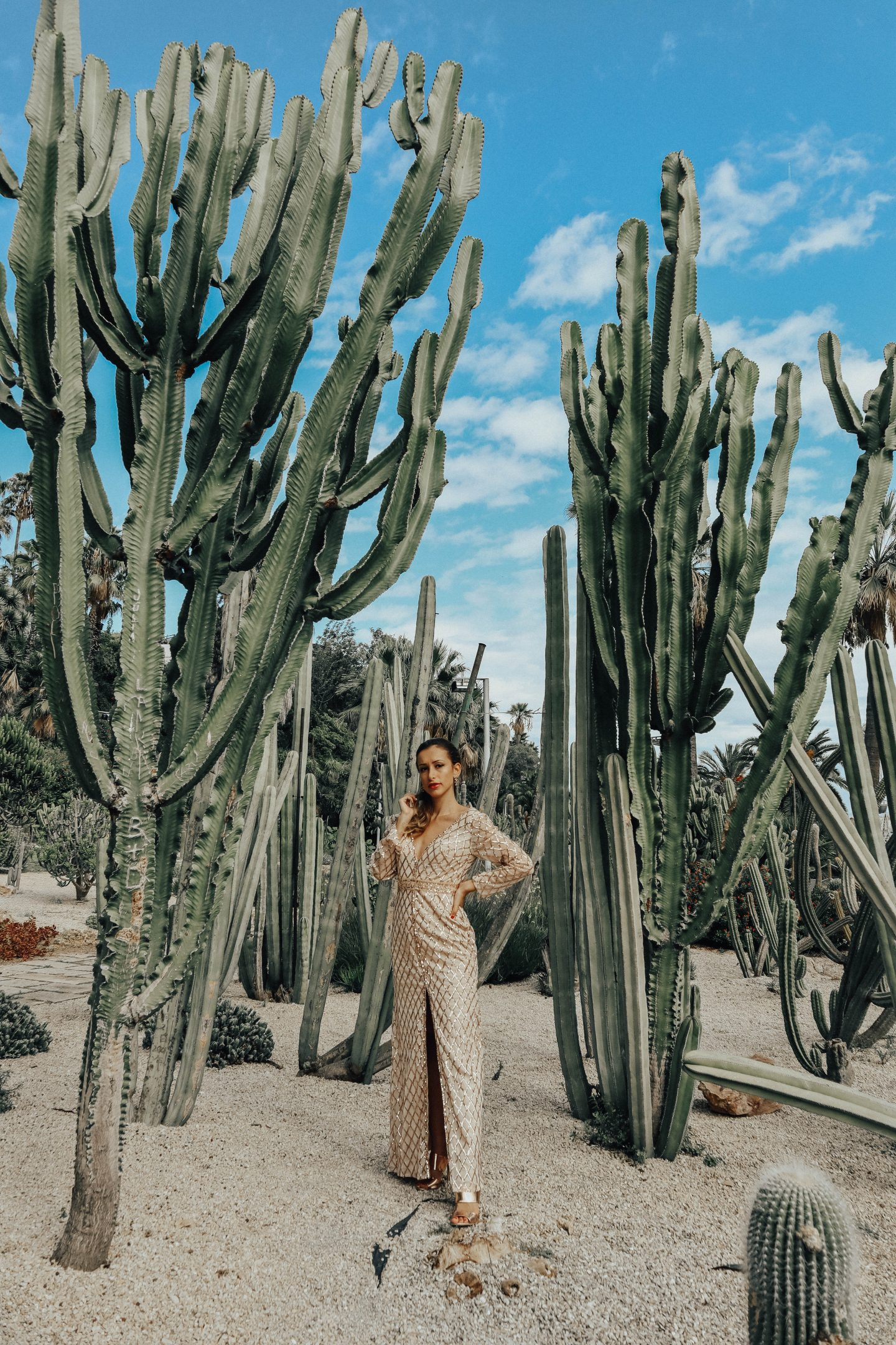 Dream Dresses in a Cactus Paradise
