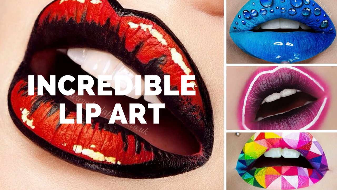 Incredible Lip Art