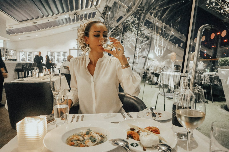 Dinner at the OXO Tower Restaurant