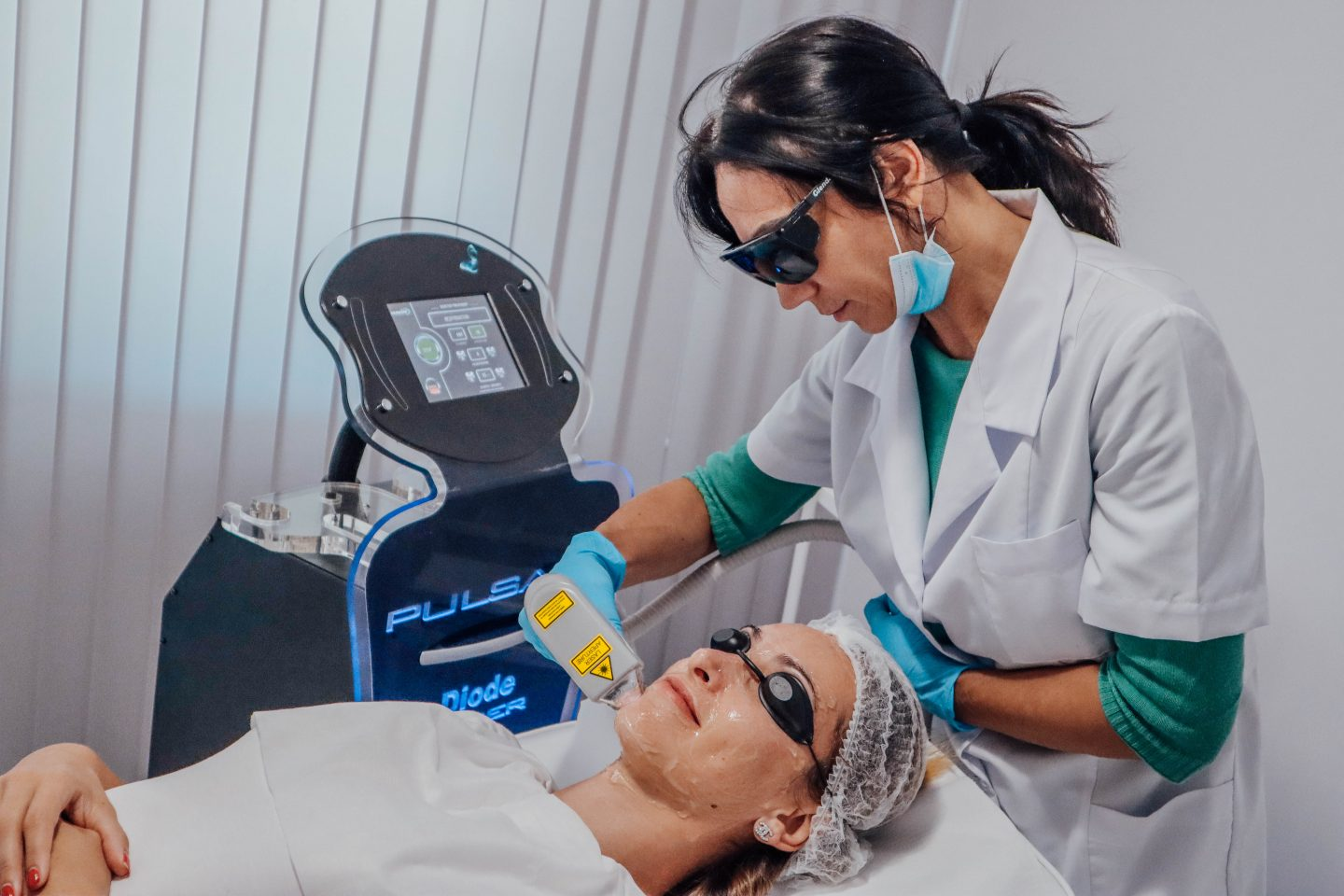 Laser Rejuvenation at Laser Centre Pulsar